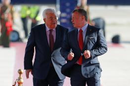 عباس  يصل الأردن للمشاركة في القمة العربية