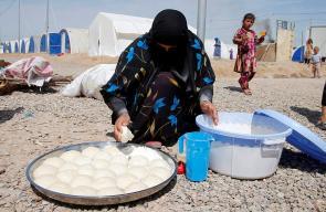 مشاهد تُظهر معـاناة النازحين الموصل.. مأساة متواصلة