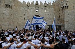 """خلال شهر رمضان.. الاحتلال يسمح للمستوطنين بتنظيم مسيرة """"رقص بالأعلام"""" في القدس"""