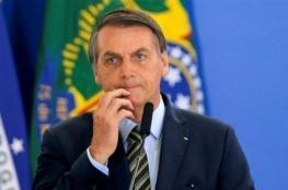 إصابة الرئيس البرازيلي بولسونارو بفيروس كورونا