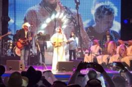 للرجال فقط.. مغني أميركي حاقد على الإسلامي يُقيم حفلاً بالسعودية