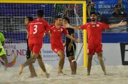 لأول مرة في تاريخه.. منتخبنا يتأهل إلى نصف النهائي في الكرة الشاطئية ببطولة آسيا
