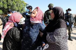 الاحتلال يهدم خيمة سكنية ويستولي عليها في مسافر يطا