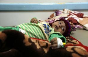 ارتفاع وفيات الكوليرا في اليمن إلى 2134 حالة
