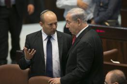 """نتنياهو: أقبل أن يترأس نفتالي بينيت حكومة """"التناوب"""" بسنتها الأولى"""