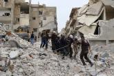 طيران الأسد يرتكب مجزرة مروعة في مدينة أريحا بريف إدلب