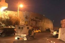 Israeli soldiers abduct four Palestinians in Bethlehem.
