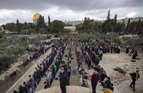 المقدسيون يدخلون مصلى باب الرحمة لأول مرة منذ 2003