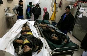 استشهاد فلسطينيين جراء قصف مدفعي شرق رفح