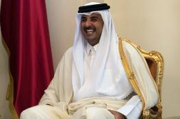 أمير قطر: القضية الفلسطينية في صدارة أولوياتنا وندعم حل الدولتين