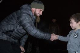 رئيس الشيشان يعين حارسًا أمنيًا يبلغ من العمر 6 سنوات