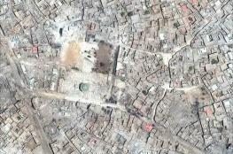 صور صادمة التقطت بالأقمار الصناعية للموصل قبل وبعد المعارك