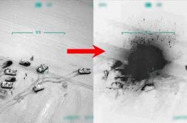 الأناضول: الجيش التركي يقصف مواقع للنظام السوري برًا وجوًا