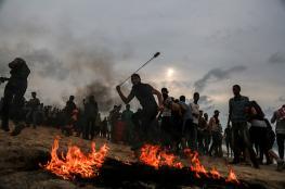 محلل إسرائيلي: مظاهرات غزة والبالونات الحارقة أرهقتنا