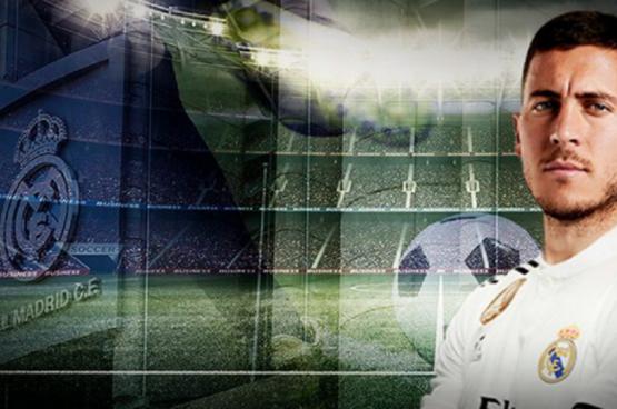تحديد موعد إعلان ريال مدريد ضم هازارد إلى صفوفه