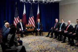 ترامب لأمير قطر: أتوقع سرعة حل الأزمة الخليجية