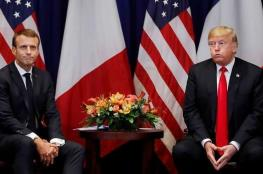 بولتون يعلن عن اجتماع مطوّل بين ترامب وماكرون
