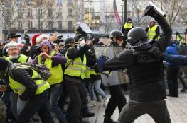 """فرنسا.. ارتفاع عدد موقوفي """"السترات الصفراء"""" إلى 164 متظاهرا"""