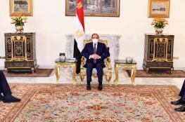 السيسي يلتقي رئيس الكونغرس اليهودي العالمي