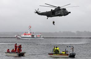 صور مناورات ألمانية يشارك فيها القوارب الشراعية الإقليمية في قاعدة فارنيموند البحرية