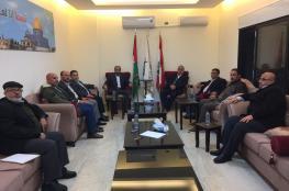 حماس والجبهة الشعبية تبحثان آخر التطورات على الساحة الفلسطينية
