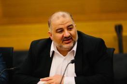اجتماع بين منصور عباس وحاخام إسرائيلي.. تفاصيل ما جرى