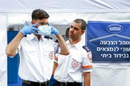 الاحتلال يعلن ارتفاع عدد مصابي فيروس كورونا الى 883