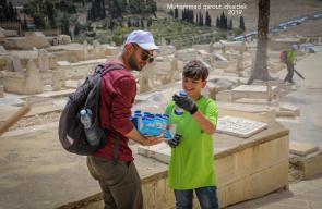 انطلاق معسكر القدس أولاً التطوعي العاشر