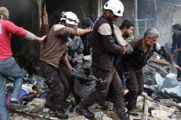 شهداء في غارات جوية على معرة مصرين بريف إدلب