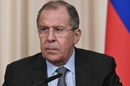 لافروف: ماكرون رفض تقديم أدلة على استخدام السلاح الكيميائي في سوريا