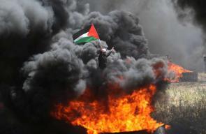 جمعة الشباب الثائر شرق غزة