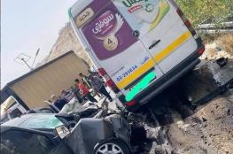 مصرع مواطن من قلقيلية في حادث طرق شمال بيت لحم