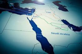 """قريباً.. خط سكة حديدية من """"إسرائيل"""" الى السعودية!"""