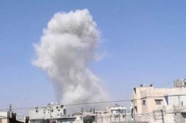 احتراق مستودع للذخيرة لنظام الأسد في مخيم النيرب بحلب