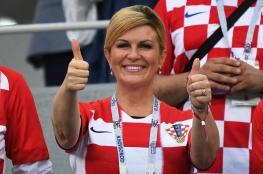 هذا ما فعلته رئيسة كرواتيا مع ترمب ورئيسة وزراء بريطانيا بعد فوز فريقها