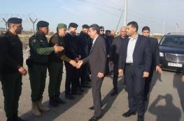 الوفد الأمني المصري يغادر القطاع