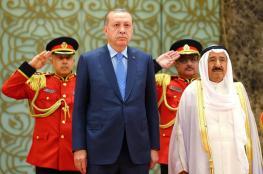 أردوغان يبدأ غداً الأحد جولة خليجية يستهلها بالكويت