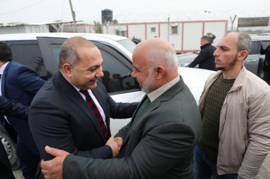 الوفـد الأمنـي المصـري يصـل قطاع غـزة