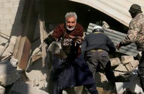 ضحايا جراء الغارات الجوية المتواصلة على بلدات الغوطة الشرقية بريف دمشق