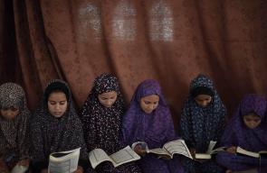 حلقات القرآن الكريم في مساجد غزة