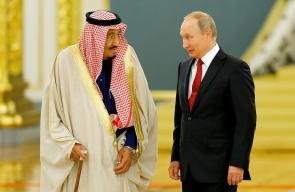 صور من زيارة ملك السعودية الى روسيا