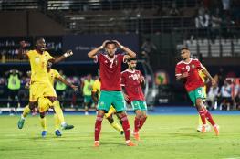 حدث تاريخي في مباراة المغرب وبنين