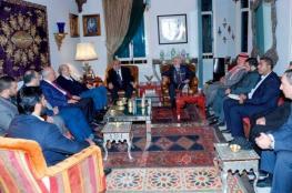 وفد برلماني فلسطيني يلتقي جنبلاط ومدير الأمن العام اللبناني