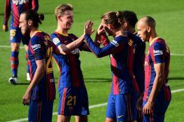 برشلونة يكرم ضيفه أوساسونا برباعية دون رد