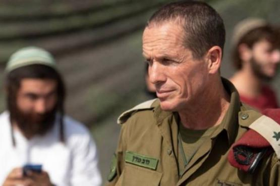 إخضاع قائد جيش الاحتلال بالضفة للعزل صحي بعد مخالطته مصابًا بكورونا