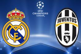 بث مباشر: مباراة ريال مدريد ويوفنتوس في نهائي أبطال أوروبا
