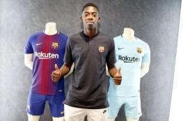 ديمبلي الوافد الجديد لبرشلونة: أشعر بالفخر للعب بجوار ميسي