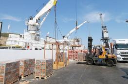 أول سفينة مواد غذائية تبحر من إزمير التركية إلى قطر