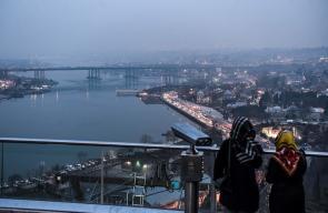 مدينة إسطنبول مساء اليوم