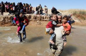 استمرار معاناة النازحين من مدينة الحويجة بسبب العمليات العسكرية ضد
